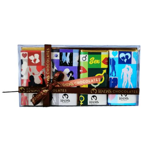set hadas chocolates de la sexualidad sagrada