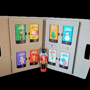 caja de chocolates energizados edicion navidad