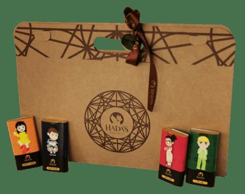 kit de chocolates para gestion emociones niños